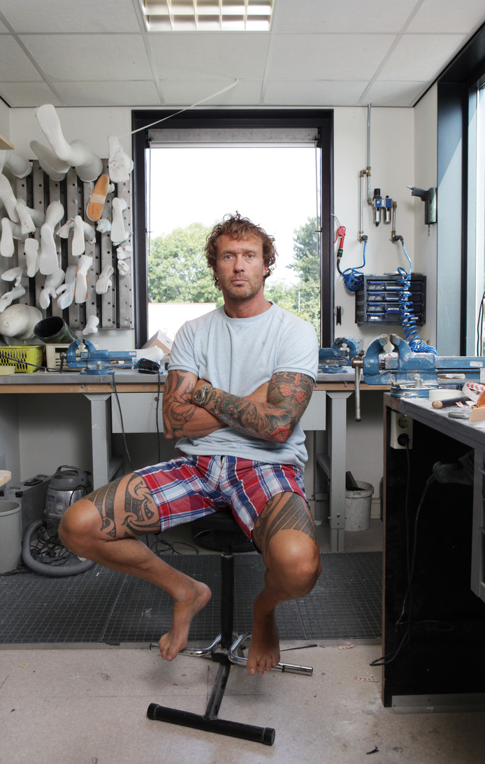 Prothesemaker Frank Jol