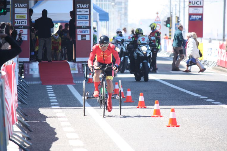 UCI Paracycling road world cup in Oostende