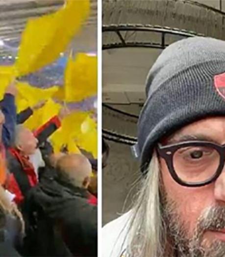 """Grimé, De Rossi a assisté au derby romain avec les ultras: """"Heureux comme un gosse"""""""