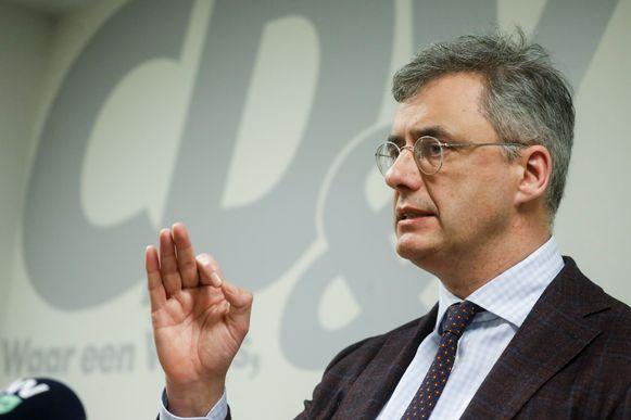 """""""Oplossing die samenwerking veiligstelt, is het belangrijkste"""" volgens CD&V-voorzitter Joachim Coens."""