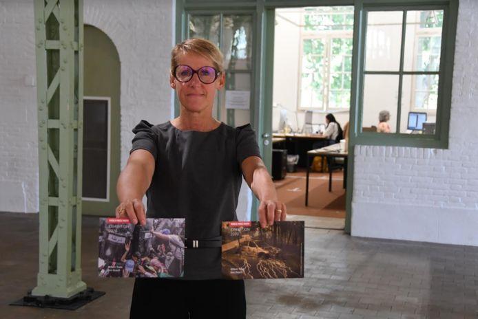 Ivonne van der Velden,  curator Kunstruimte bij Willem Twee.