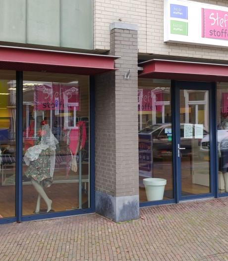 Stef's Stoffen verhuist van Molenstraat Veghel naar Kerkstraat Oss