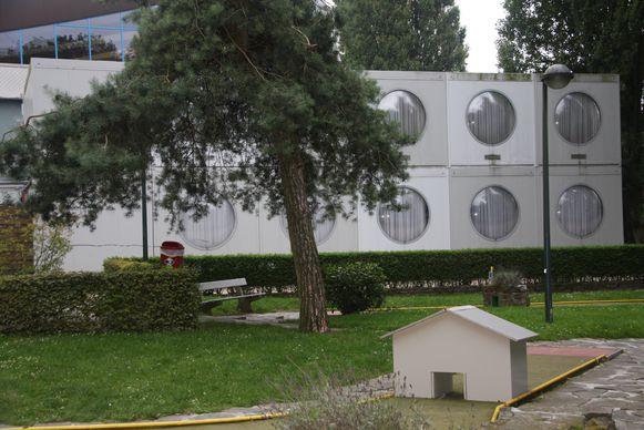 Een archiefbeeld van het Sporthome Eeklo.