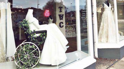 """Bruidsboetiek wordt online geprezen voor bijzondere paspop in etalage: """"Eerste keer dat ik dit ooit zie"""""""