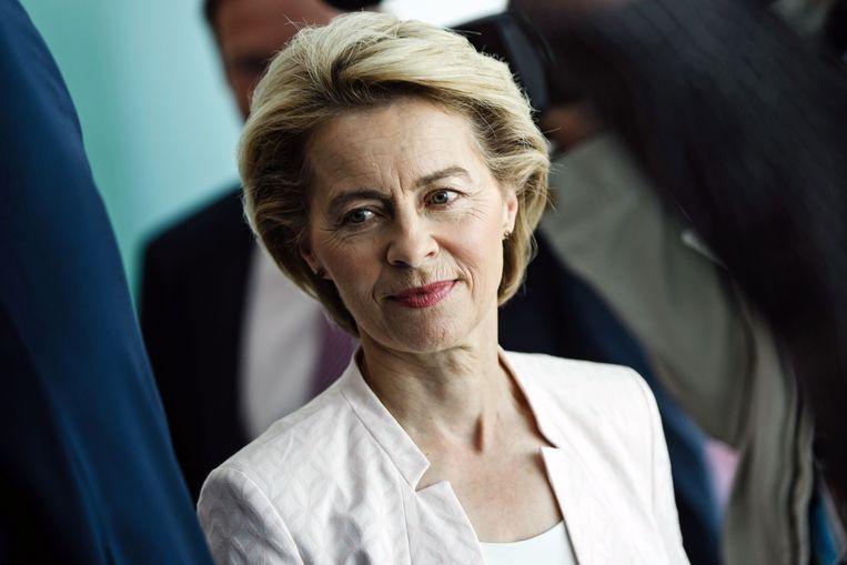 Ursula von der Leyen.  Beeld EPA - Clemens Bilan