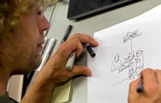 Tekenaar Jean-Marc van Tol