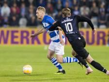 De Graafschap zonder Serrarens tegen ADO Den Haag; Nijland in de spits
