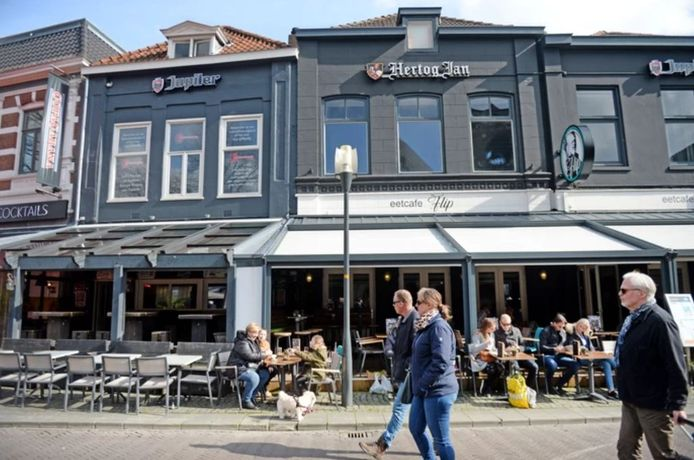 Eetcafé Bij Flip aan de Langestraat in Enschede.
