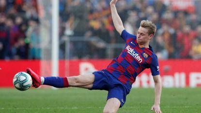 """""""Ik verwacht twee geweldige wedstrijden"""": Barça-middenvelder Frenkie de Jong kijkt uit naar clash tegen Napoli"""