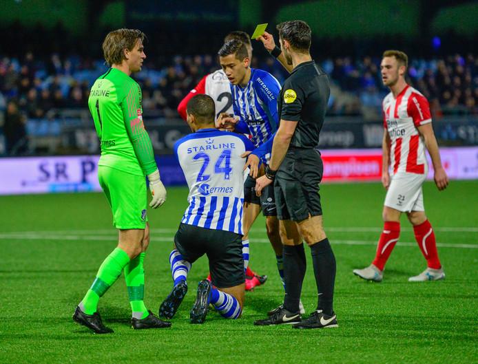 FC Eindhoven geeft een penalty weg aan TOP Oss.