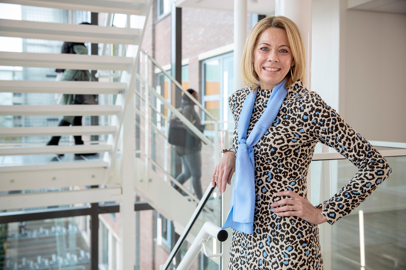 Directeur Karina Visscher van Avans Academie Associate degree: ,,De insteek is dat studenten zelf mede ontdekken welke theorie er nodig is voor de praktijk.''