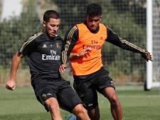 """""""Session complète"""": le grand retour d'Eden Hazard à l'entraînement du Real"""