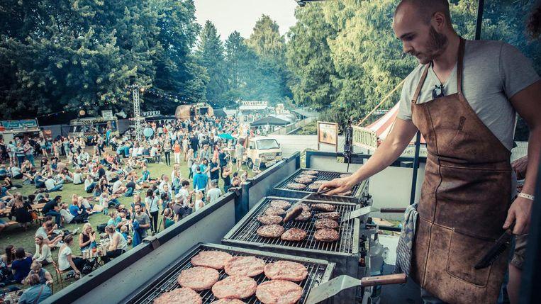 Op foodfestival trek zul je geen honger lijden. Beeld TREK