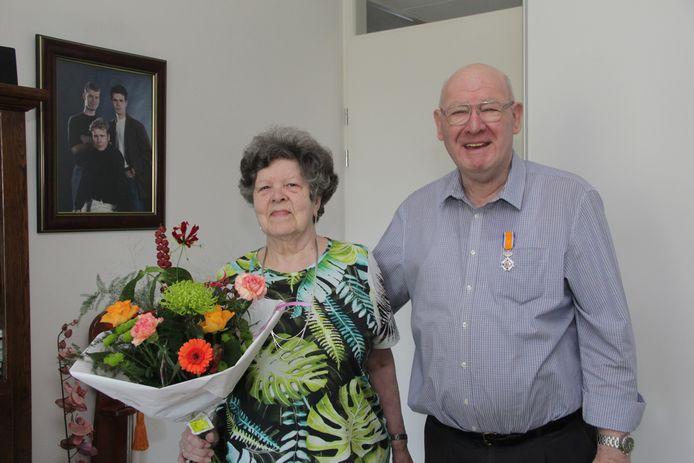 Theo van der Velden werd in mei koninklijk onderscheiden.