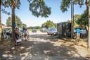 Buren hebben een parkeerterrein ingericht, waar bezoekers van de Wijthmenerplas voordelig kunnen parkeren, zonder een boete op te lopen.