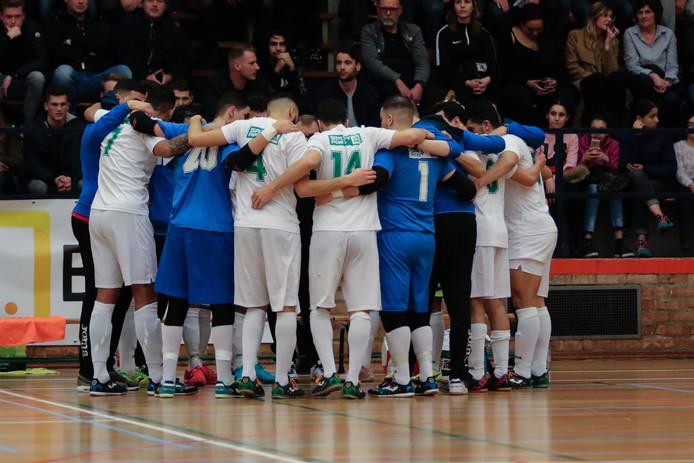 De spelers van Groene Ster Vlissingen krijgen voor de tweede keer in de clubhistorie de kans om de bekerfinale te bereiken.