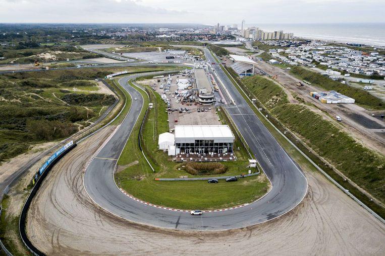 Luchtfoto van Circuit Zandvoort.  Beeld ANP