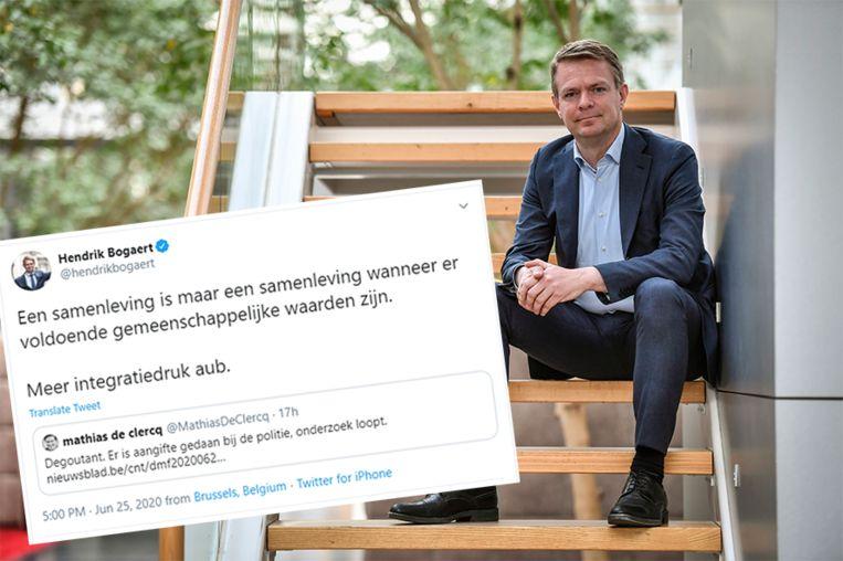 """Hendrik Bogaert pleit voor """"meer integratiedruk"""""""