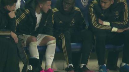 LIVE. Van kwaad naar erger: Real verliest Eden Hazard met blessure, Courtois is nadien kansloos na zondagsschot