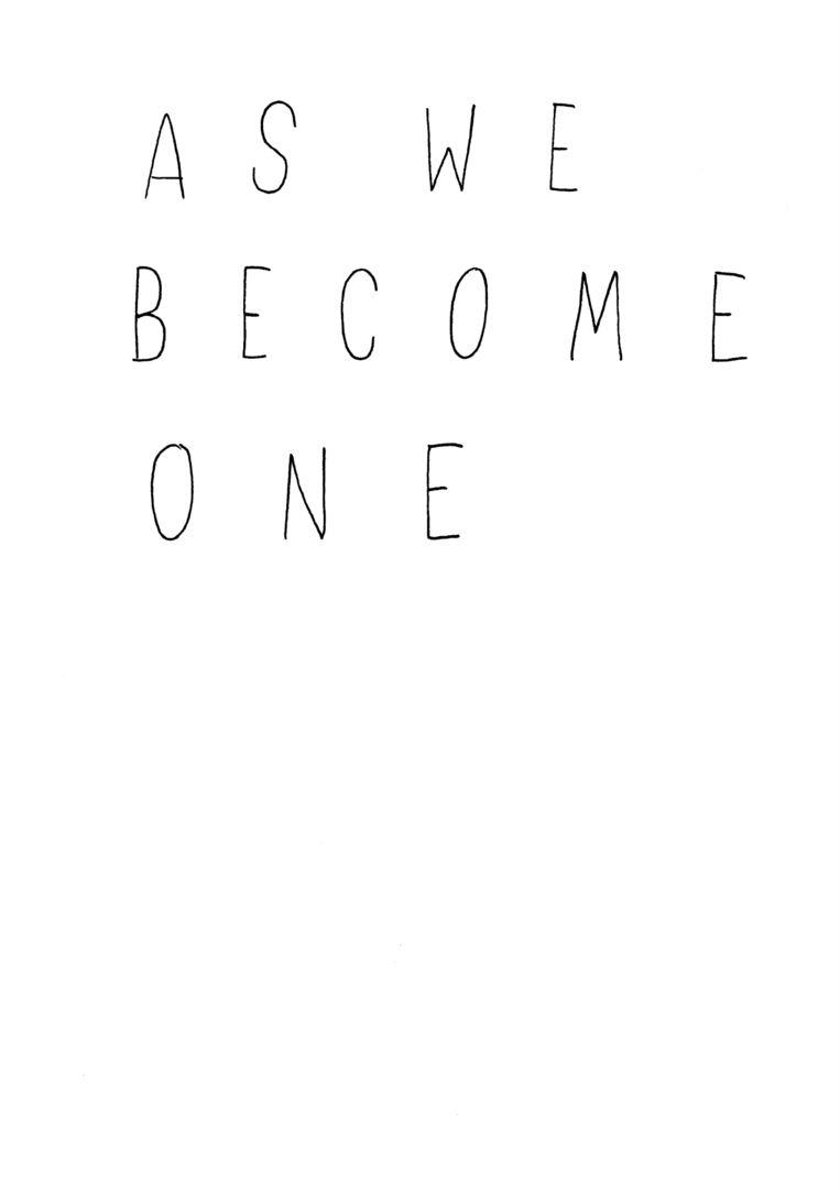 As we become one, ofwel Aasswweebbeeccoommeeoonnee, van beeldend kunstenaar Navid Nuur. Beeld Navid Nuur