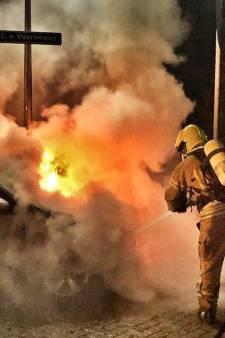 Auto uitgebrand in Oostvoorne