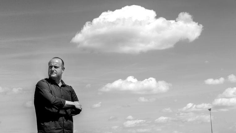 Sierk Janssen, maakt drukwerk voor Pinkpop Beeld Harry Heuts