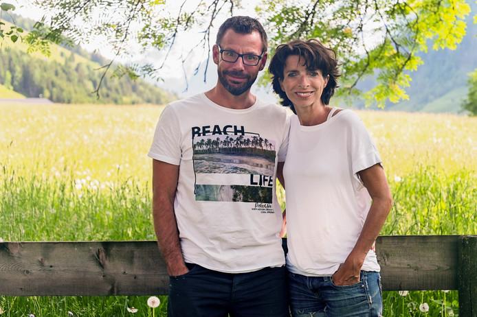 Hans en Nelleke in Rauris.