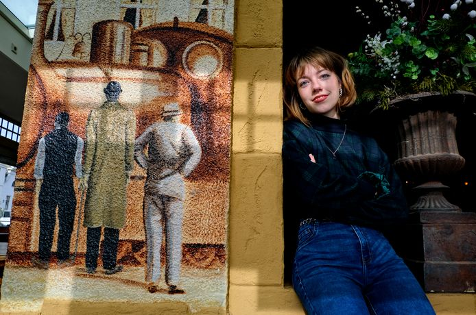Dominique van Dongen: 'Ik ben een parttime schrijfster en een fulltime dromer'.