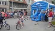Leerlingen Sint-Pieter spelen opnieuw hele voormiddag op straat