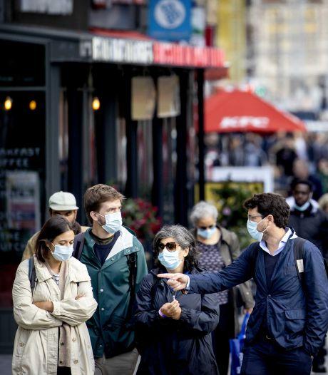 Droge keel, verstopte poriën en sneller ademen: dit gebeurt er achter je mondkapje