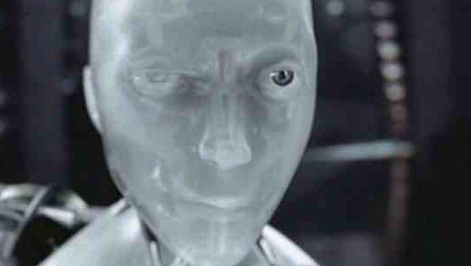 "Photo d'illustration tirée du film ""I, Robot"" d' Alex Proyas."