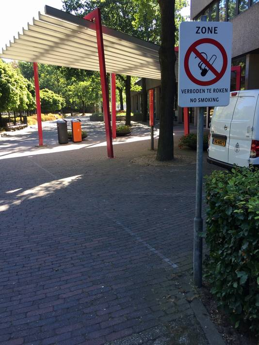Rookverbod bij de Radboud Universiteit