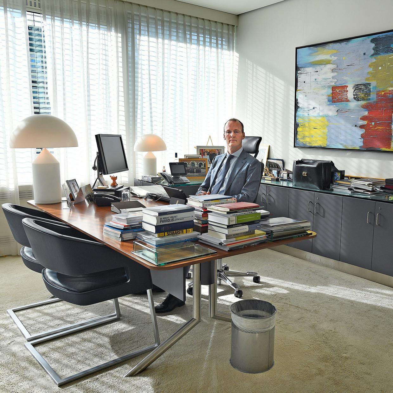 Klaas Knot, de president van De Nederlandsche Bank. Beeld Guus Dubbelman /  de Volkskrant