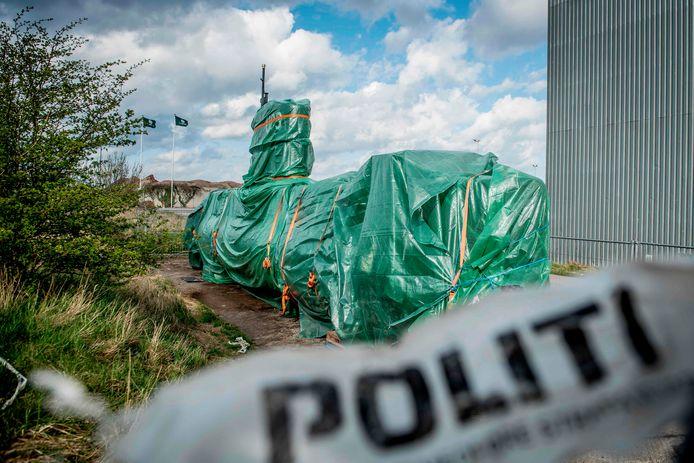 Madsens zelfgemaakte duikboot waar de 30-jarige Kim Wall om het leven kwam.