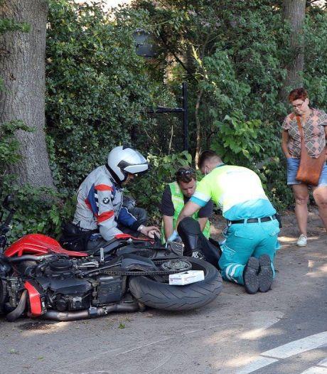 Motorrijder zwaargewond bij ongeluk in Helvoirt