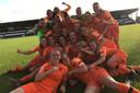 Vreugde bij de speelsters van Oranje onder 19.