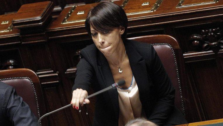 De Italiaanse minister van landbouw Nunzia De Girolamo. Beeld epa