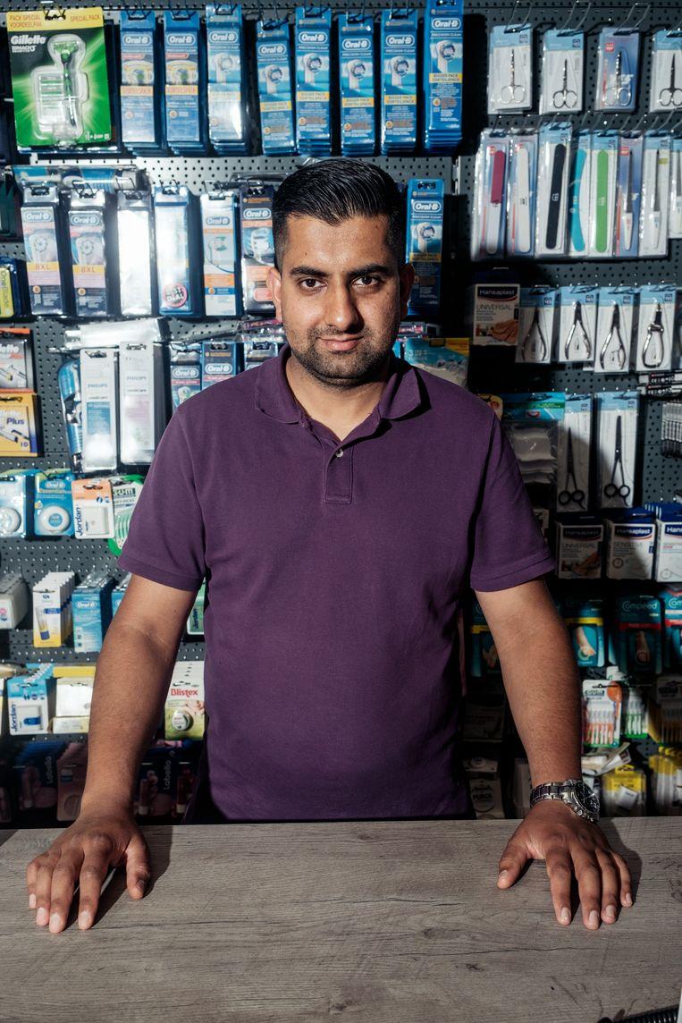 Muazam Ahmed (33). Beeld Jakob Van Vliet