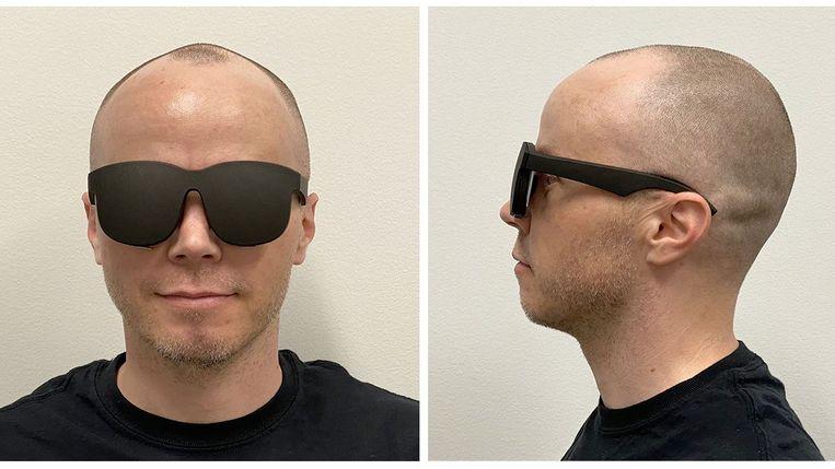De 'VR-zonnebril' van Facebook Beeld Facebook