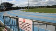 Atletiekpiste gesloten voor onderhoudswerken