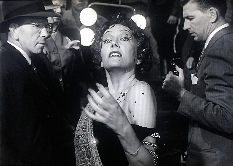 Gloria Swanson in Sunset Boulevard Beeld