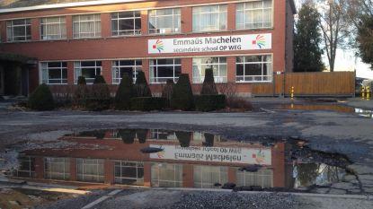 Parking Emmaüsschool dit jaar heraangelegd