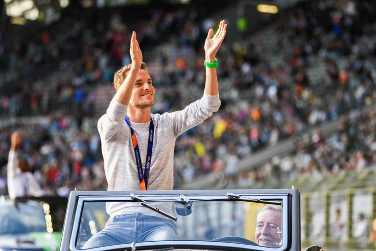 Koen Naert sleepte op het EK het goud op de marathon in de wacht.