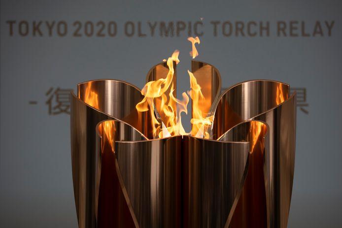 De olympische vlam