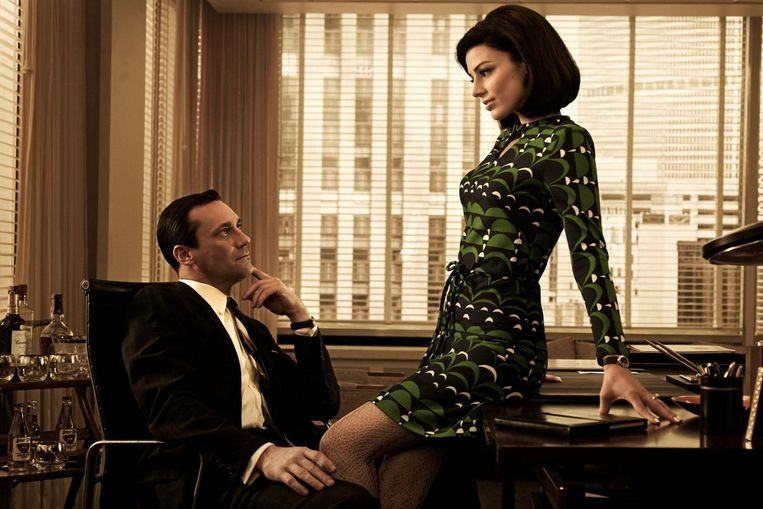De mode in de populaire tv-serie Mad Men. Beeld