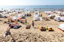 Op deze stralende Hemelvaartsdag besloot Nederland massaal naar het strand te gaan, bijvoorbeeld in Noordwijk.
