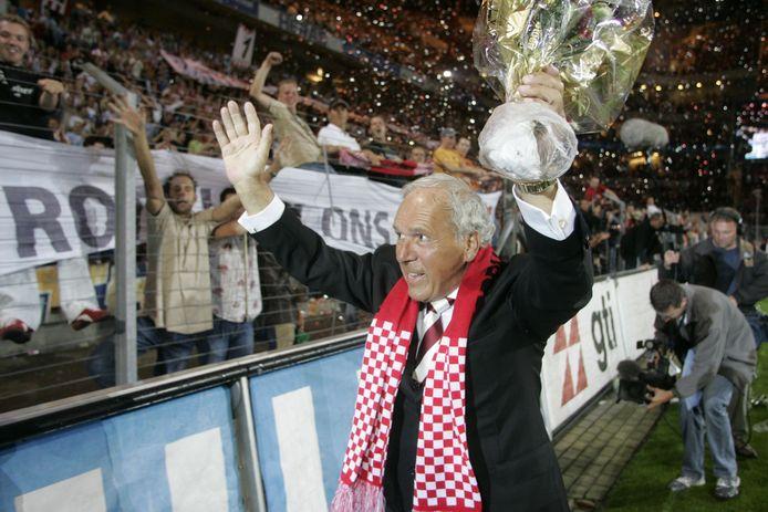 Harry van Raaij overleed deze week op 84-jarige leeftijd.
