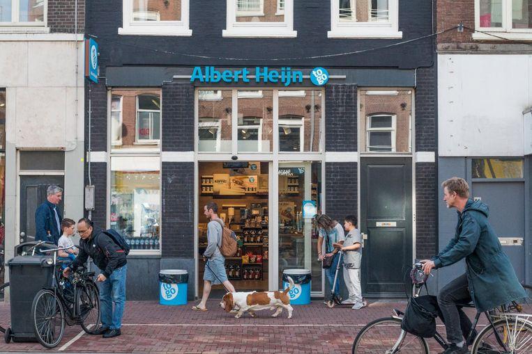 De Albert Heijn to go aan de overkant van Jumbo City. Beeld Jesper Boot