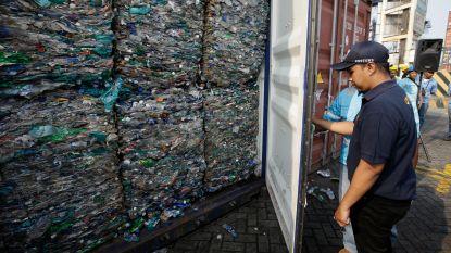 Indonesië stuurt 547 afvalcontainers terug naar ontwikkelde landen, waaronder België