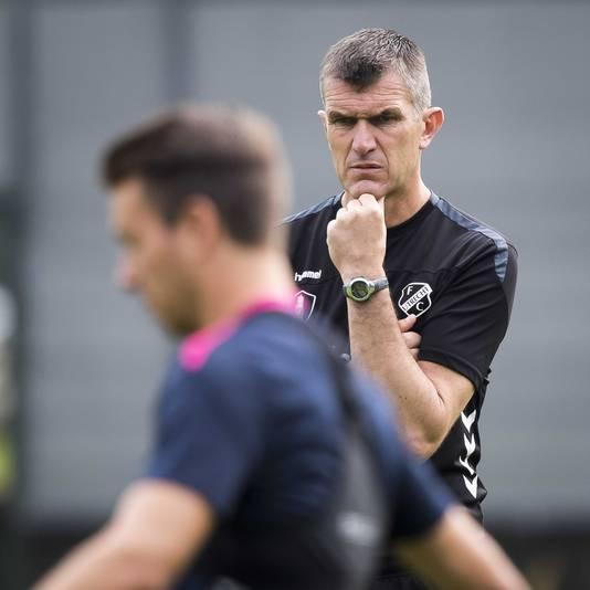 Trainer Marinus Dijkhuizen.